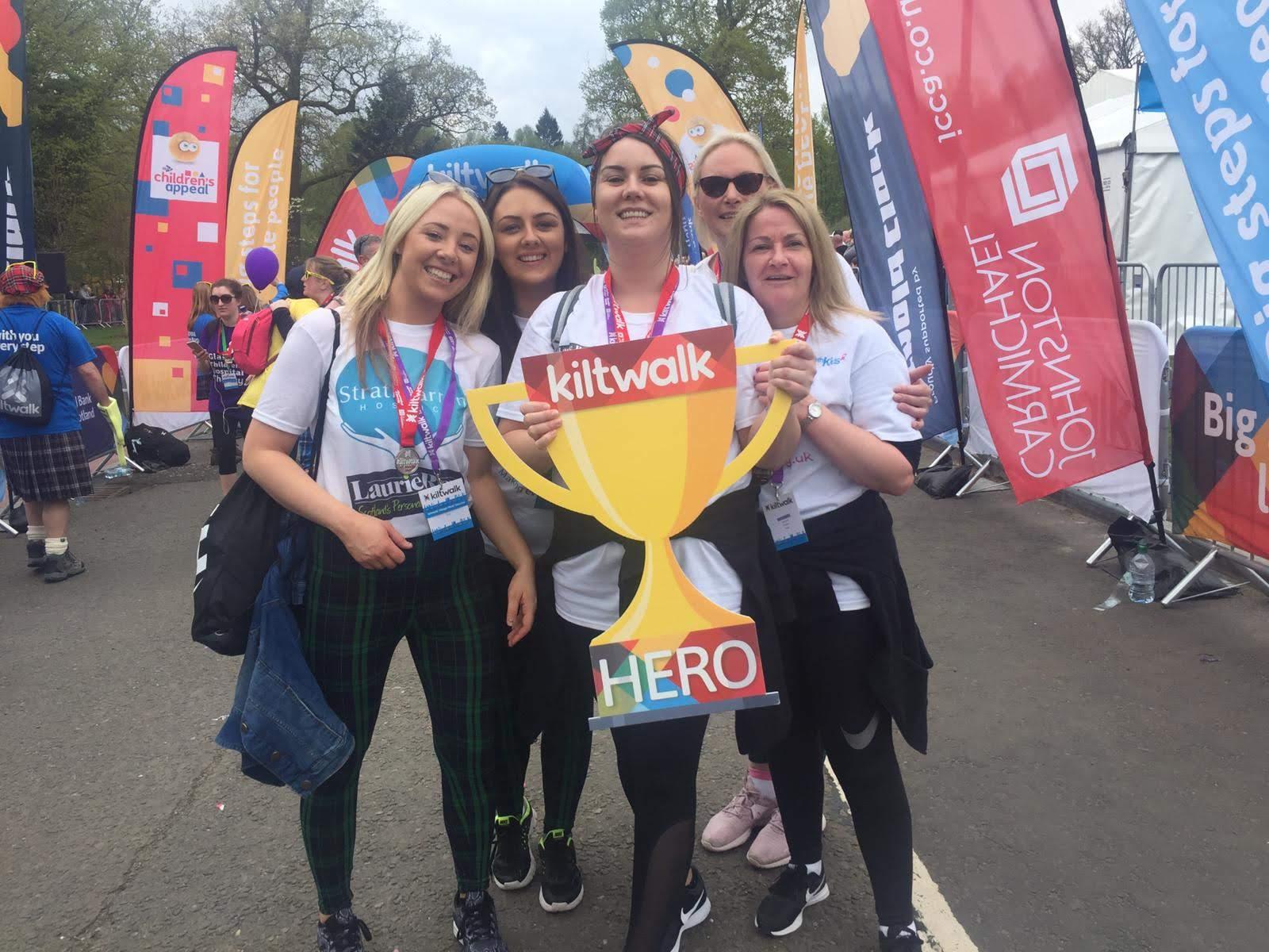 Kiltwalk 2019 – We raised £10,672! Featured Image
